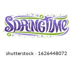 vector greeting card for spring ...   Shutterstock .eps vector #1626448072
