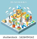 the concept of learning and... | Shutterstock . vector #1626454162