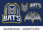 bats mascot logo design... | Shutterstock .eps vector #1626471352