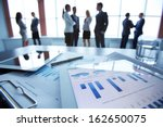 close up of business document... | Shutterstock . vector #162650075