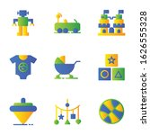 toy icon set include robot car... | Shutterstock .eps vector #1626555328
