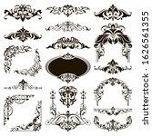 ornamental design lace borders... | Shutterstock .eps vector #1626561355