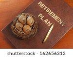 retirement plan | Shutterstock . vector #162656312