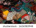 Asian Colorful Dragons  Rising...