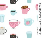 seamless pattern with different ...   Shutterstock .eps vector #1626609205
