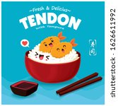 vintage japanese food poster...   Shutterstock .eps vector #1626611992