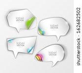 vector banners set  | Shutterstock .eps vector #162682502