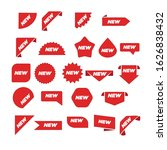 new label collection set. sale... | Shutterstock .eps vector #1626838432