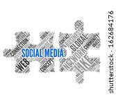 social media   modern wallpaper | Shutterstock . vector #162684176