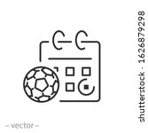 Date Soccer Match Icon ...