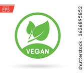 vegan food icon. healthy...   Shutterstock .eps vector #1626895852