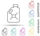 oil bottle multi color style...