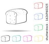 rye bread multi color style...