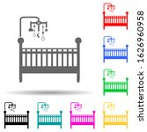 cot with toys multi color style ...