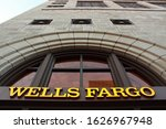 Small photo of Milwaukee, Wisconsin / USA - June 26, 2019: Wells Forgo bank
