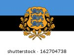 original and simple estonia... | Shutterstock .eps vector #162704738