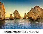 natural rock formation at land... | Shutterstock . vector #162710642