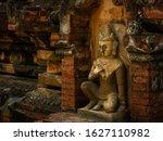 Carved Stonework Buddhist...