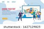 travel agency tours for... | Shutterstock .eps vector #1627129825