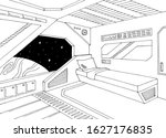 Spaceship Interior Cabin...