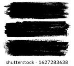 abstract grunge brush stroke...   Shutterstock .eps vector #1627283638