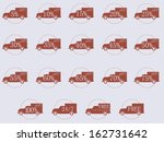 vector illustration of shipping ... | Shutterstock .eps vector #162731642