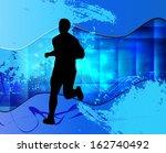 sport illustration  | Shutterstock . vector #162740492