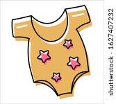 vector. baby sleeveless...   Shutterstock .eps vector #1627407232