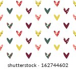 retro seamless pattern with...   Shutterstock .eps vector #162744602