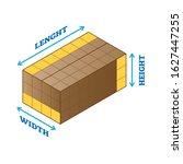 length  width  height... | Shutterstock .eps vector #1627447255