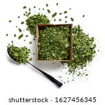 dried moringa on a white... | Shutterstock . vector #1627456345