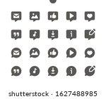 messages v5 ui pixel perfect... | Shutterstock .eps vector #1627488985