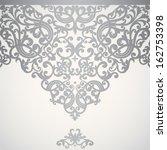 vector baroque seamless border... | Shutterstock .eps vector #162753398