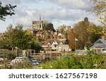 River Arun And Cathedral At...