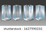 set of 3d realistic vector... | Shutterstock .eps vector #1627590232