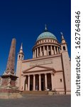 st. nicholas church in potsdam  ... | Shutterstock . vector #162764846