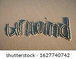 Unwind Message Handwritten In...