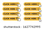 click here button. button for... | Shutterstock .eps vector #1627742995
