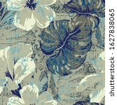 Vector Watercolour Floral...