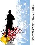 sport illustration | Shutterstock . vector #162784382