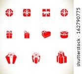gift box | Shutterstock .eps vector #162790775