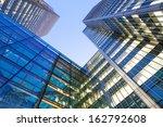 windows of skyscraper office... | Shutterstock . vector #162792608
