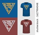 new york urban style. t shirt... | Shutterstock .eps vector #1627984048