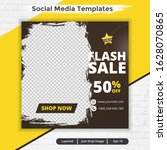 modern abstract template post... | Shutterstock .eps vector #1628070865