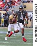 Small photo of Jan 26, 2020; Orlando, FL USA; AFC quarterback Deshaun Watson of the Houston Texans scrambles during the Pro Bowl at Camping World Stadium in Orlando, Fla. (Steve Jacobson/Image of Sport)