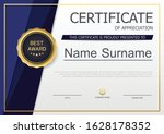certificate of appreciation...   Shutterstock .eps vector #1628178352