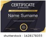 certificate of appreciation...   Shutterstock .eps vector #1628178355