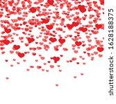 hearts background  valentine...   Shutterstock .eps vector #1628188375