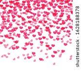 hearts background  valentine...   Shutterstock .eps vector #1628188378