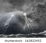 Image Of Dark Night With...